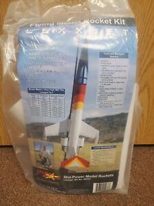 DynaStar LexxJet Flying Model Rocket NEW Kit * Great Flyer * MidPower