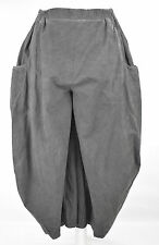 STUNNING KEKOO  cotton harem/BALLOON  trousers sz XL/XXL DISTRESSED GREY