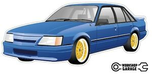 HOLDEN VK SS GROUP A BLUE Sticka with Simmons