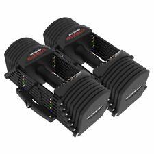 PowerBlock Adjustable Dumbbells Pro 32 4-32lbs Quick-Change Auto Lock Set