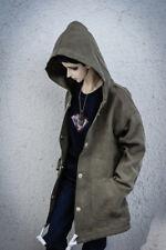 Green Overcoat  Long Outfit Coat For 1/4 17in Male BJD MSD AOD DD DZ AS DOLL