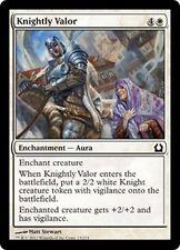 MTG Magic RTR - (4x) Knightly Valor/Valeur chevaleresque, English/VO
