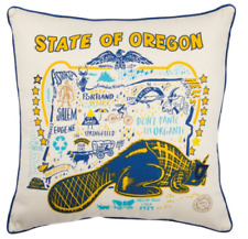 """State Of Oregon Oversize 20"""" Decorative Throw Pillows Wholesale Lot of 6 New"""