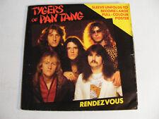 "TYGERS OF PAN TANG Rendezvous Ex+ MCA UK 1982 Poster Sleeve 7"""