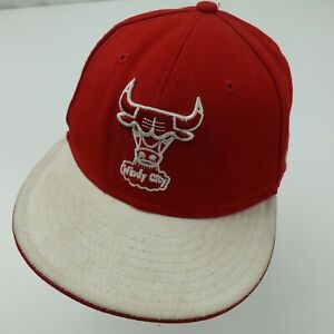 Windy City Chicago Bulls Basketball New Era Ball Cap Hat Adjustable Youth