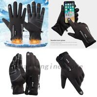 Winter Warm Gloves Touc Screen Outdoor Driving Windproof Waterproof Men Women US