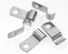Stainless Saddle Clamps 8mm Pack Of 5