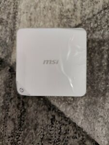 MSI Cubi-243WE Barebone SFF PC with Intel Celeron N4000 windows 10 4GB Ram 32HDD