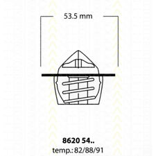 Thermostat Eau TRISCAN PEUGEOT 205 II (20A/C) 1.0 45 CH