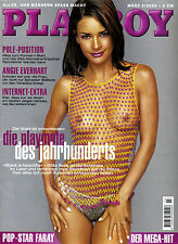 Playboy 03/2000    Angie Everhart & Gitta Sack & Faray*   März/2000