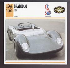 1964 1965 1966 Jack Brabham BT8 Formula 1 Race Car Photo Spec Sheet Info CARD