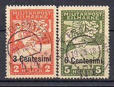1918 OCCUPAZIONE AUSTRIACA ESPRESSO SERIE USATA D/2769