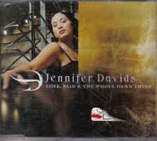 Jennifer Davids-Love Pain& the Whole Damn thing cd maxi single