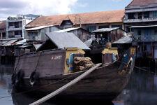 Vietnam 1971- Cargo Boat - Ben Nghe Channel - Saigon