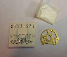 NOS Bulova Accutron 218 Spaceview Skeleton Date Bridge Part # 2181 571