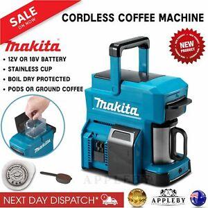 Makita 18V 12V Max Coffee Maker Machine Portable Automatic Brewer Skin DCM501Z