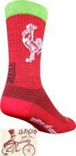 SOCKGUY WOOL SRIRACHA RED LARGE/X-LARGE SOCKS--ONE PAIR