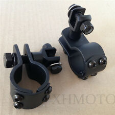"1 1/4"" Guard Crash Bar Mount Footpeg Clamps to SUZUKI VL M800 M109R M90 S50 C90"