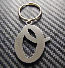 O Letter Alphabet Name Keyring Keychain Key Fob Bespoke Stainless Steel Gift