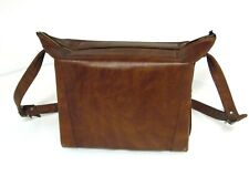 Vintage Leather Camera Case Bag With Adjustable Strap Brown Photography