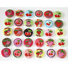 Cute Kawaii Berry Cherries Badges x 30 Button Pins Wholesale Lot 25mm One Inch