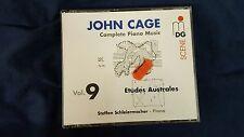 CAGE JOHN  - COMPLETE PIANO MUSIC VOL. 9 ETUDES AUSTRALES. BOX 3 CD
