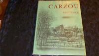 LIVRE D ART /  CARZOU / PROVENCE 1966 HUILE ET AQUARELLE  /  EDITEUR SAURET