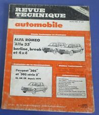 Revue technique automobile rta 451 1985 Alfa romeo Alfa 33 berline break 4x4