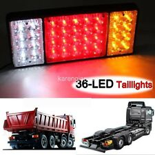36 LED Ute Rear Trailer Tail Lights Caravan Truck Boat Car Indicator Lamp 12V