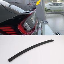 For Hyundai Sonata 2020-2021 Carbon Rear Door Tail Trunk Wing Lip Spoiler Trim