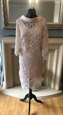 veni infantino Sz 10 Pink Lace Mother Of The Bride Bnwt Rrp £599