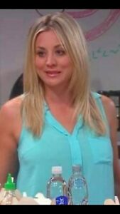 "Kaley Cuoco Authentic Screen Worn ""The Big Bang Theory"" W/COA."
