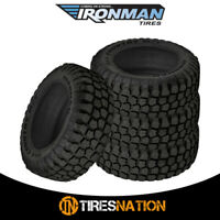 (4) New Ironman All Country M/T 35/12.5/22 117Q Mud Terrain Tire