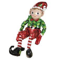 73cm haut assis Père Noël aide Lutin noël ballon Table de décoration cheminée