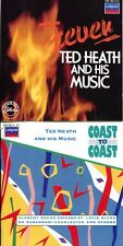Lot of 2 London Records Music CD Ted Heath & His Music FEVER Coast to Coast