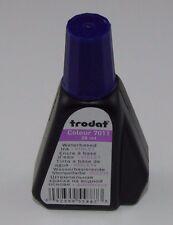 Trodat sello almohadilla de tinta a base de agua en color violeta 28ML Color 7011