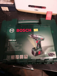 Bosch PSR 14.4 Cordless Drill Driver Power Tool Battery Charger Case
