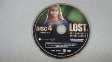 Lost Second 2 Season Disc 4 ONLY DVD