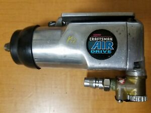 SEARS Palm Size Butterfly Throttle Air Impact Wrench AIR DRIVE Japan Pre-Owned