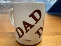 Houze DAD Coffee Mug Cup Vintage 1977