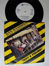 "BAD MANNERS : Just a feeling / Suicide  7"" 45T 1980 U.K. ska MAGNET MAG 187"
