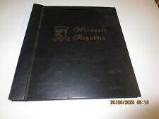 DR - Weimarer Republik Sieger Vordruckalbum 1919-1932 mit Teilsammlumg */**
