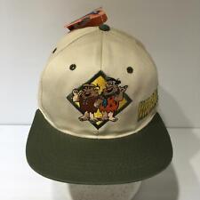 1994 The Flintstones Fred & Barney Fresh Caps Snapback Cap Hat OSFA NWT