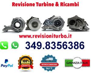 TURBINA REVISIONATA RENAULT CLIO KANGOO  MEGANE  MODUS  SCENIC 1.5 DCI (2003-)