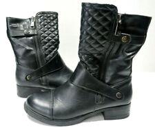 Women's Black MAURICES Sheena Fashion Boots , Size 10 M