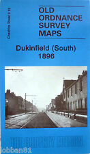 OLD ORDNANCE SURVEY DETAILED MAP DUKINFIELD SOUTH CHESHIRE 1896 Sheet 3.13 new