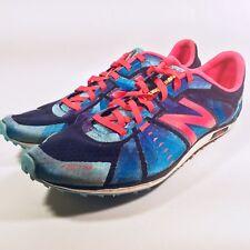 New Balance Womens Lightweight Racing Track Spikes Shoes Blue W5000XCB US 8.5