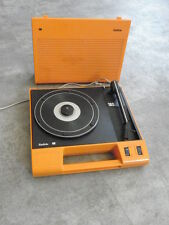1970s radiola- Philips 180 Portable Suitcase vintage Turntable Record player