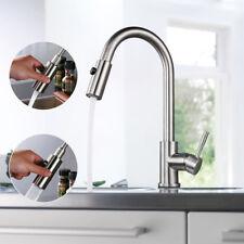 Küchenarmatur Wasserhahn Küche Ausziehbar Einhandmischer Mischbatterie Messing