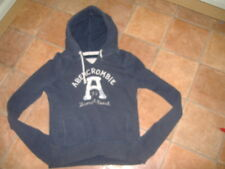 ABERCROMBIE & FITCH LADIES HOODIE,SIZE M, G/C,DESIGNER LADIES HOODY TOP,